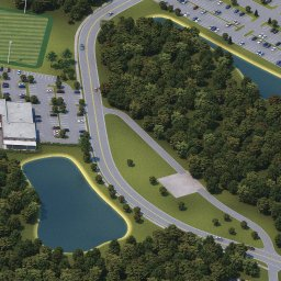 University of North Florida Interactive Campus Map on